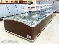 Recolors.ru оклейка торгового холодильника