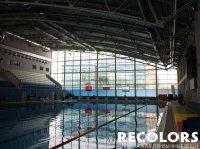 Тонировка фасада спортивного комплекса