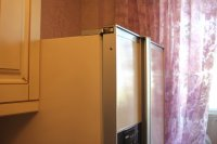 оклейка старого холодильника