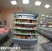 Recolors.ru оклейка торговых холодильников