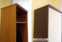 Recolors.ru Оклейка мебели виниловой пленкой