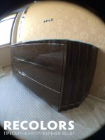 Recolors.ru  Реставрация старой мебели, комод