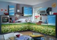 Recolors.ru   Оклейка мебели кухни