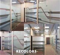 Recolors.ru оклейка офисных перегородок