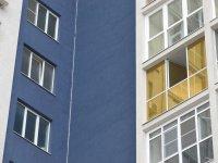 окна тонированные золотой зеркальной пленкой