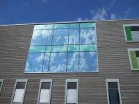 тонировка окна зеркальной пленкой