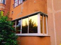зеркальная тонировка стекол на балконе